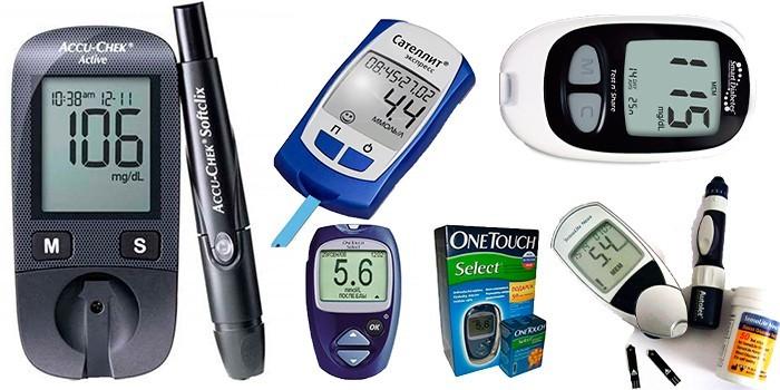 Глюкометры разных производителей