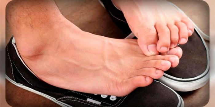 Ноги мужчины