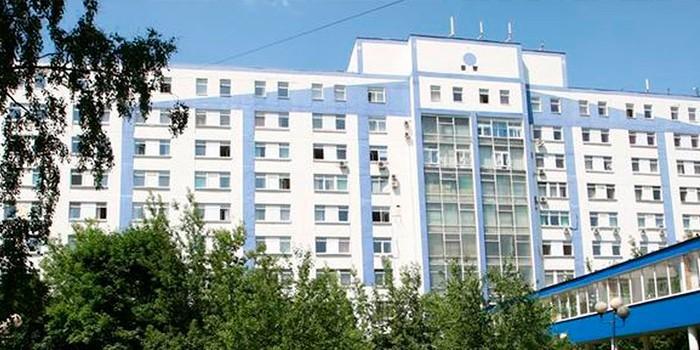 Здание лечебно-реабилитационный центра Минздрава России