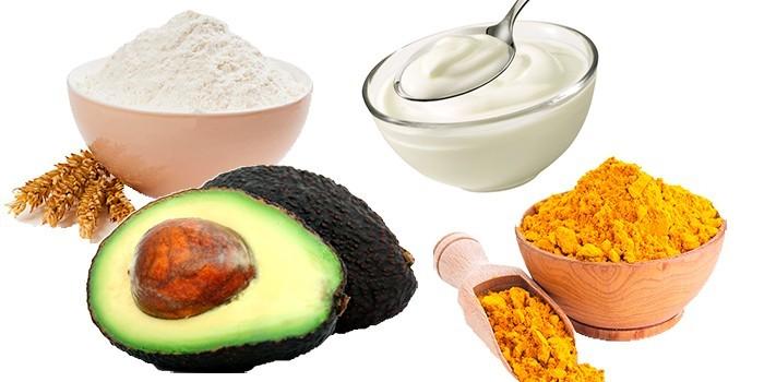 Ингредиенты для увлажняющей маски